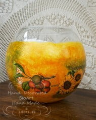 dekupaj-vaza-oranjevo-sfera