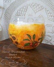 styklena-sfera-oranjeva-slan4ogledi