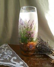 dekupaj-vaza-styklena-lavandula
