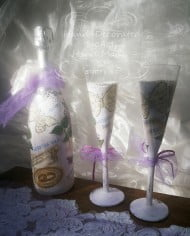 svatbeno-shampansko-i-chashi-dekupaj-lilavo