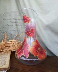kana-za-vino-rychno-dekorirana-makove