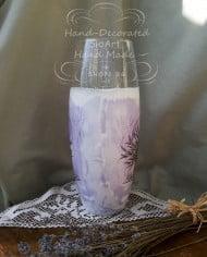 vaza-dekupaj-rychno-dekorirana-lavandula